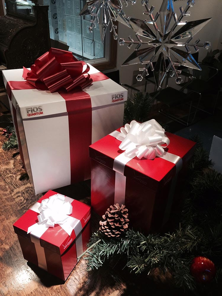 Verizon Christmas Packaging