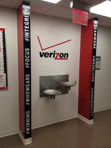 Verizon Wall Graphics