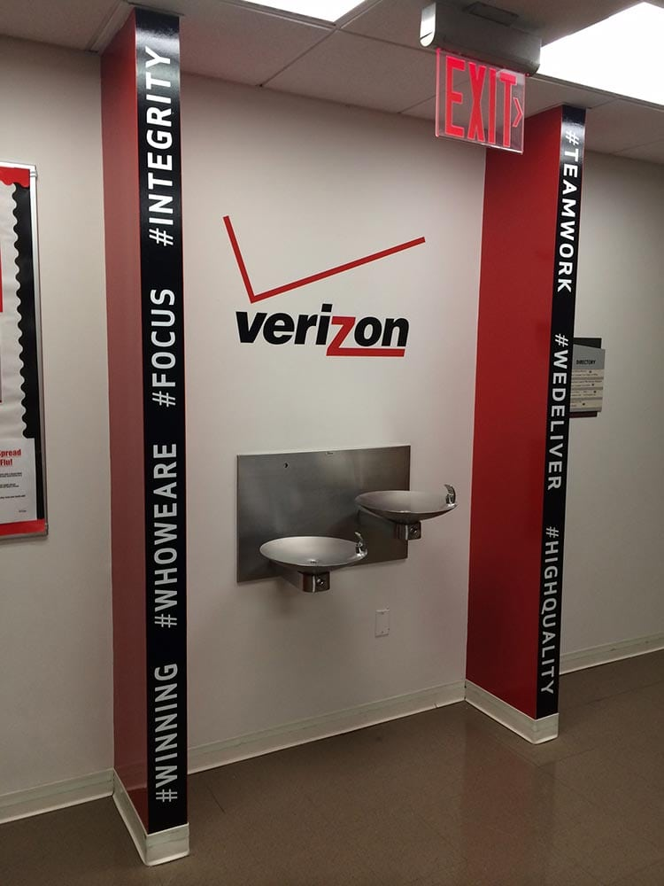 Verizon Wall Graphics - Brooklyn, NY