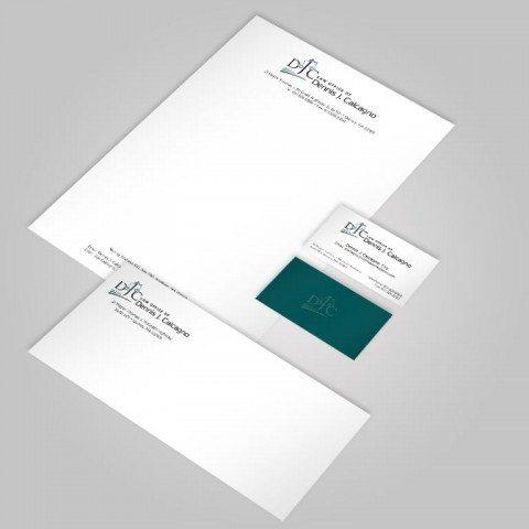 DJC Law Offices Branding Set