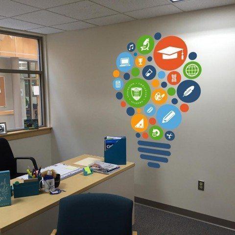 School Guidance Office - Wall Art