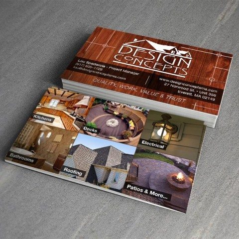 Design Concepts Business Card