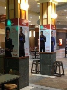Verizon Mall Graphics | Large Format Printing | Medford, MA | Boston, MA