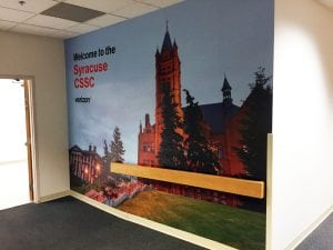 Verizon Vinyl Wall Mural - Syracuse CSSC
