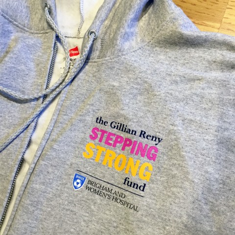The Gillian Reny Stepping Strong Fund   Hooded Sweatshirt