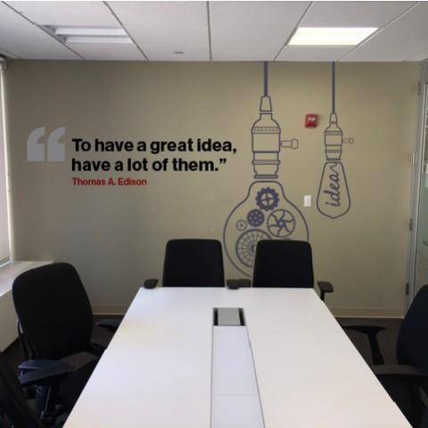 Great Ideas Wall Mural