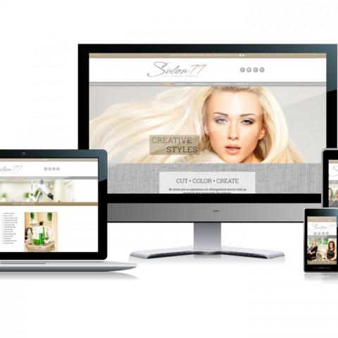 Salon77 Website