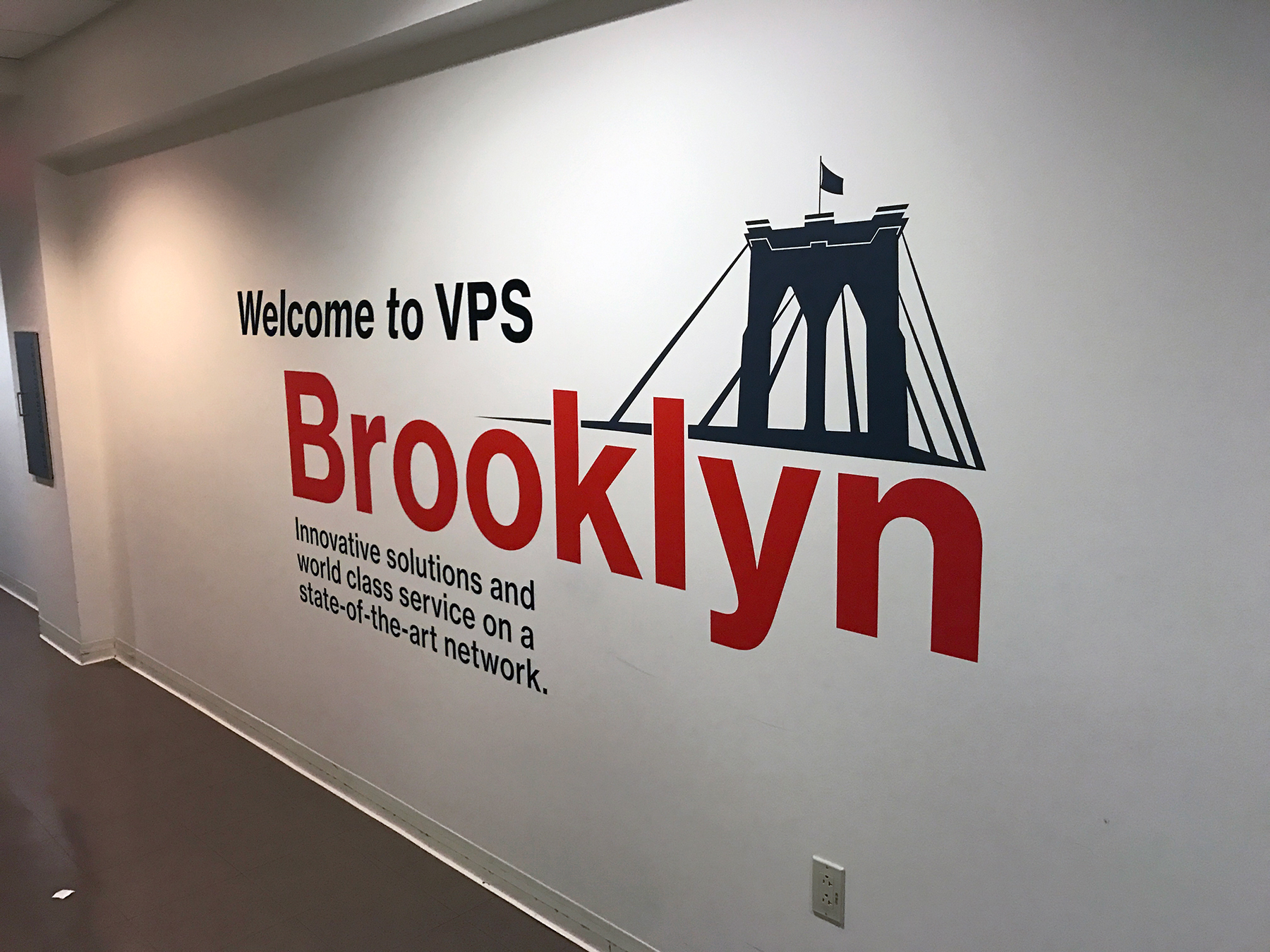 Brooklyn Wall Logo