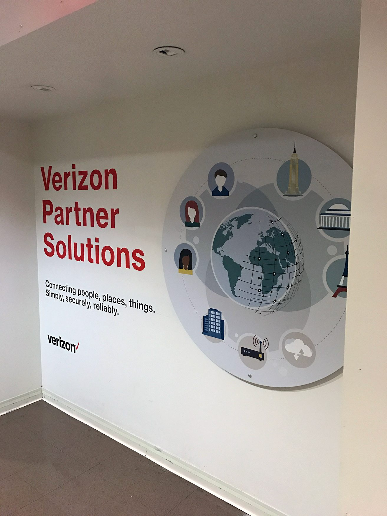 Verizon Partner Solutions | Large Format Print | Medford, MA - Boston, MA