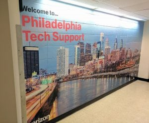Verizon Philadelphia Tech Support Mural