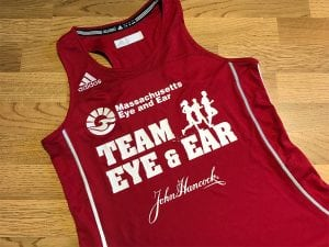 Mass Eye & Ear Racing Singlet | Custom Apparel | Boston, MA | Medford, MA