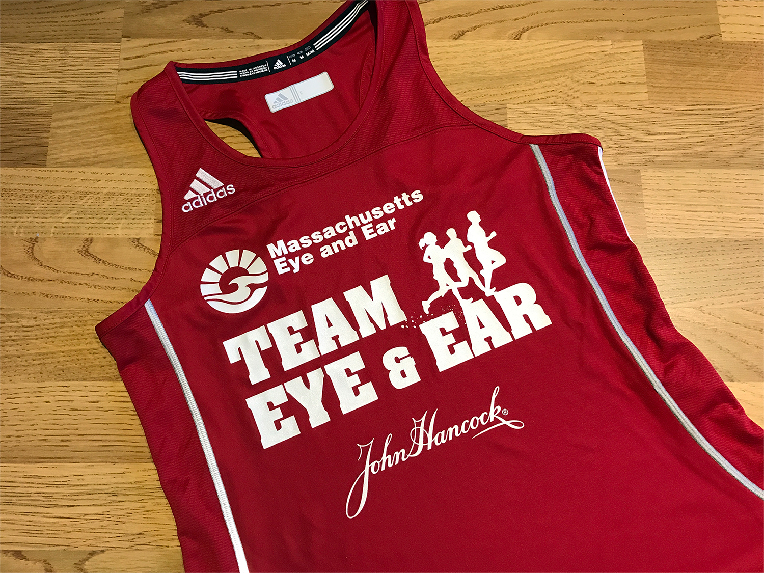 Mass Eye and Ear Racing Singlet