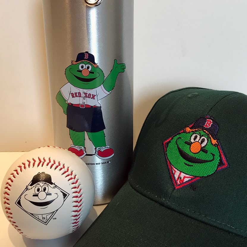 Wally Water Bottle, Hat and Baseball
