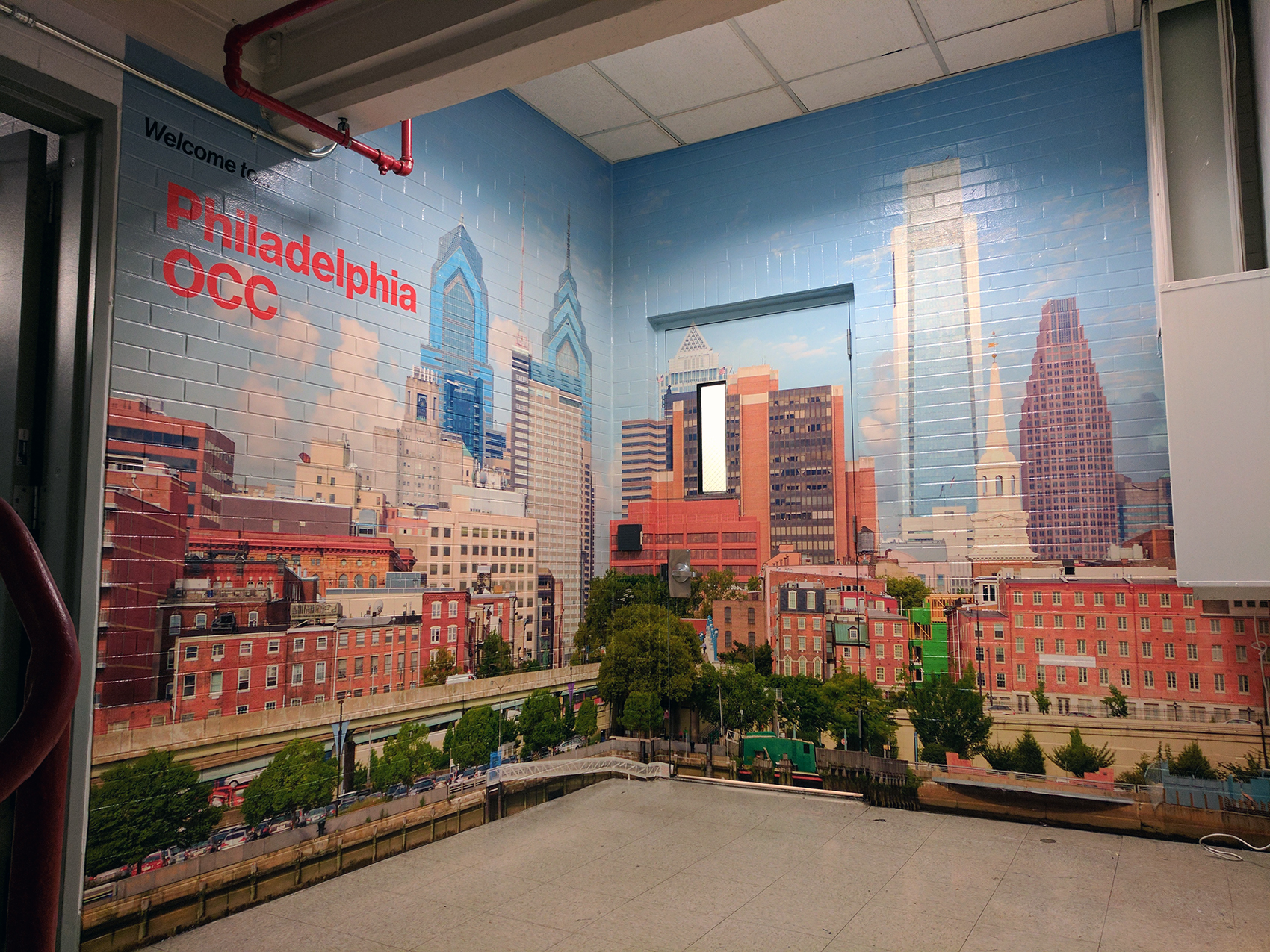 Verizon Philadelphia Wall Mural