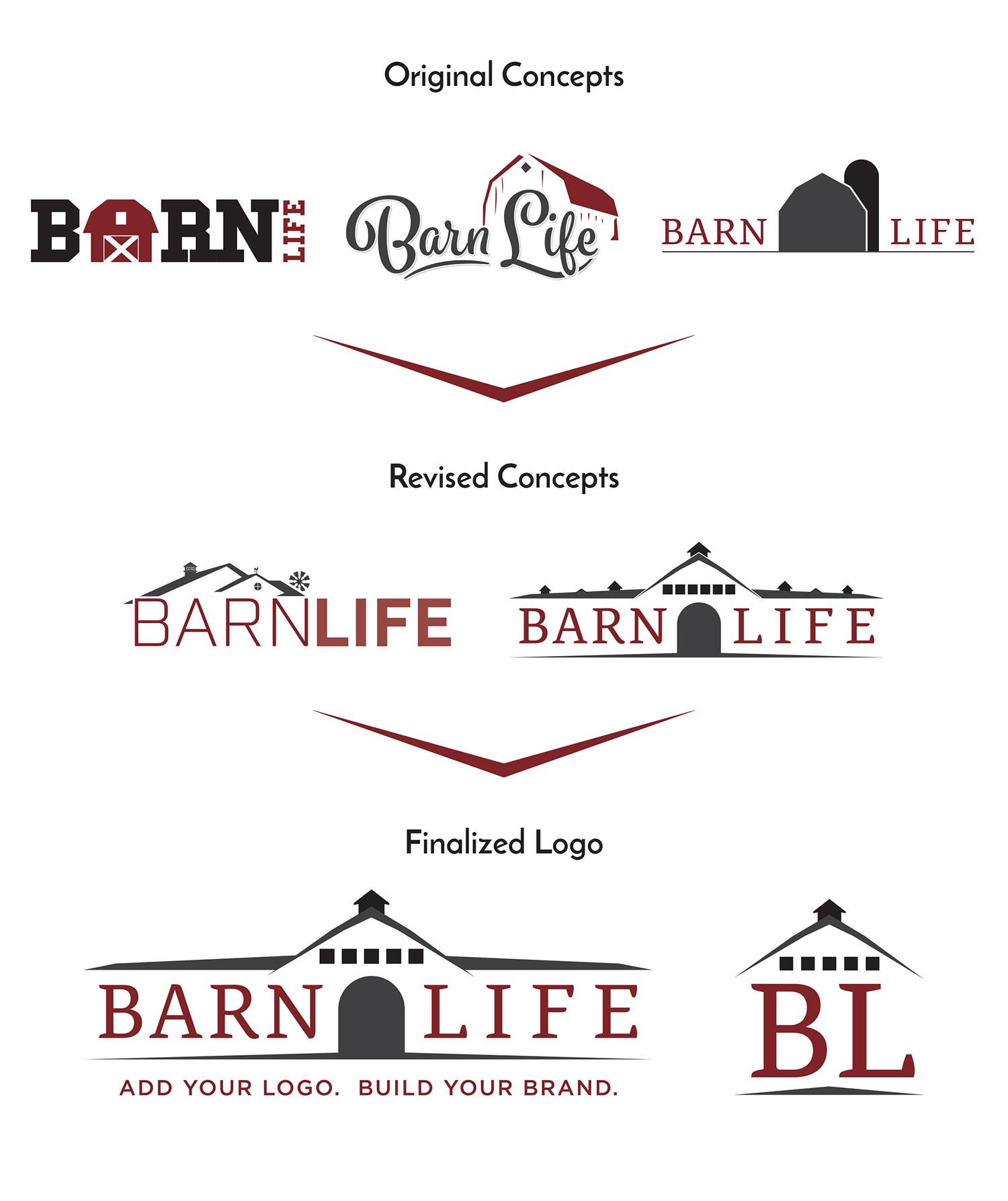 Barnlife | Logo Design | Medford, MA | Boston, MA