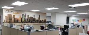 New York City Mural | Verizon | Digital Printing | Boston, Medford