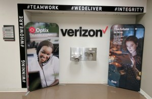Verizon Banner Stands | Digital Printing | Boston, Medford