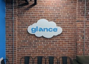Glance Cloud Logo