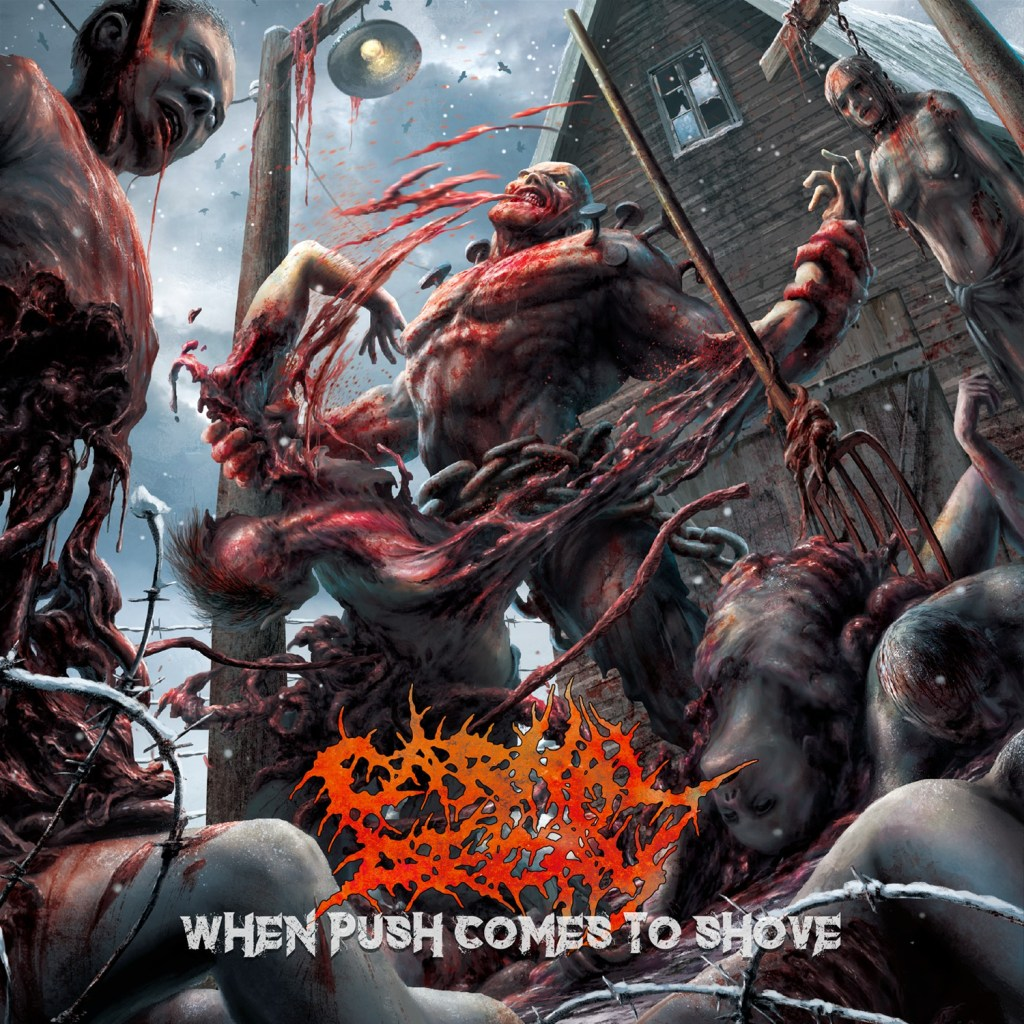 "Carnal Decay's ""When Push Comes to Shove"" Album Art"