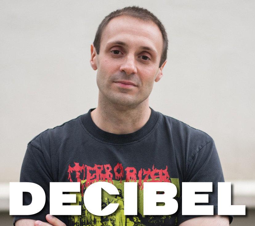 Albert Mudrian, Editor in Chief of Decibel Magazine