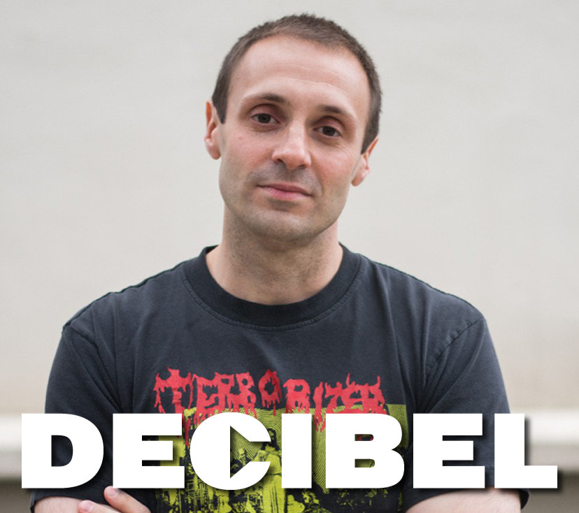 Albert Mudrian, Editor in Chief of Decibel Magazine