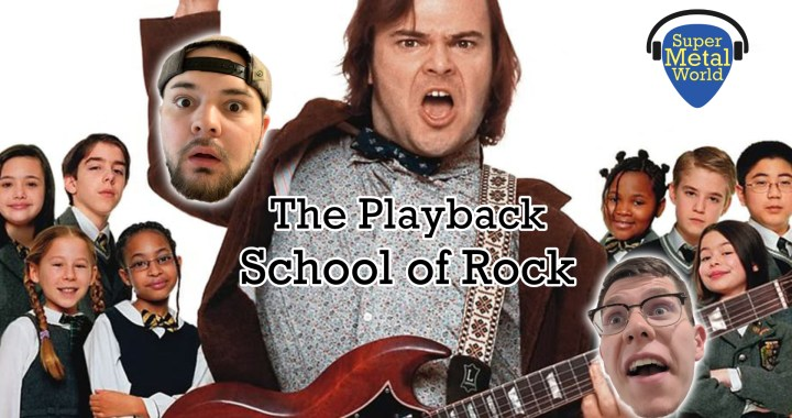 The Playback | School of Rock