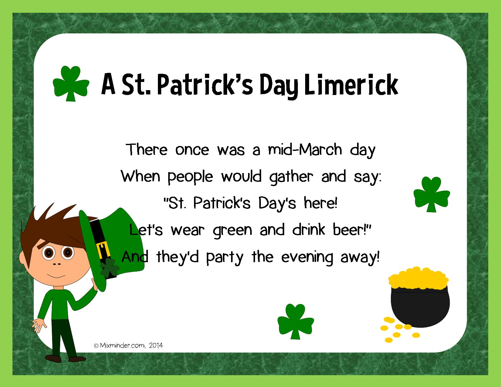 6 Great Limericks To Read This March