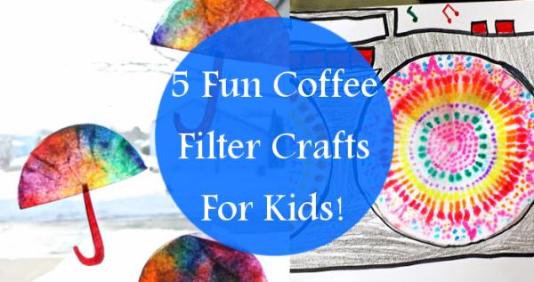 Fun Coffee Filter Crafts For Kids! | ShareYourFreebies