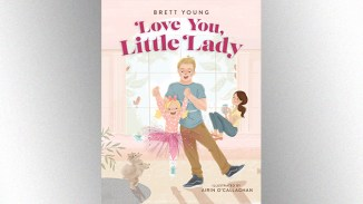 <div>'Love You, Little Lady': Brett Young releasing children's book</div>