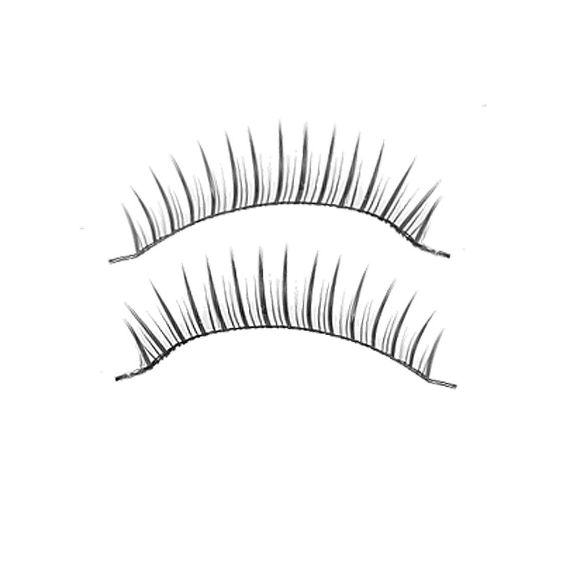 Long Thick False Eyelashes Fake Lashes Extension 10 Pairs