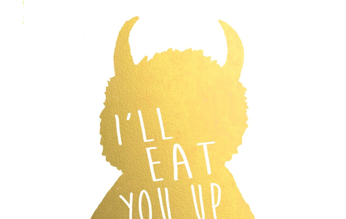 Download I'll Eat You Up I Love You So 8 x 10 Print - BelleChic