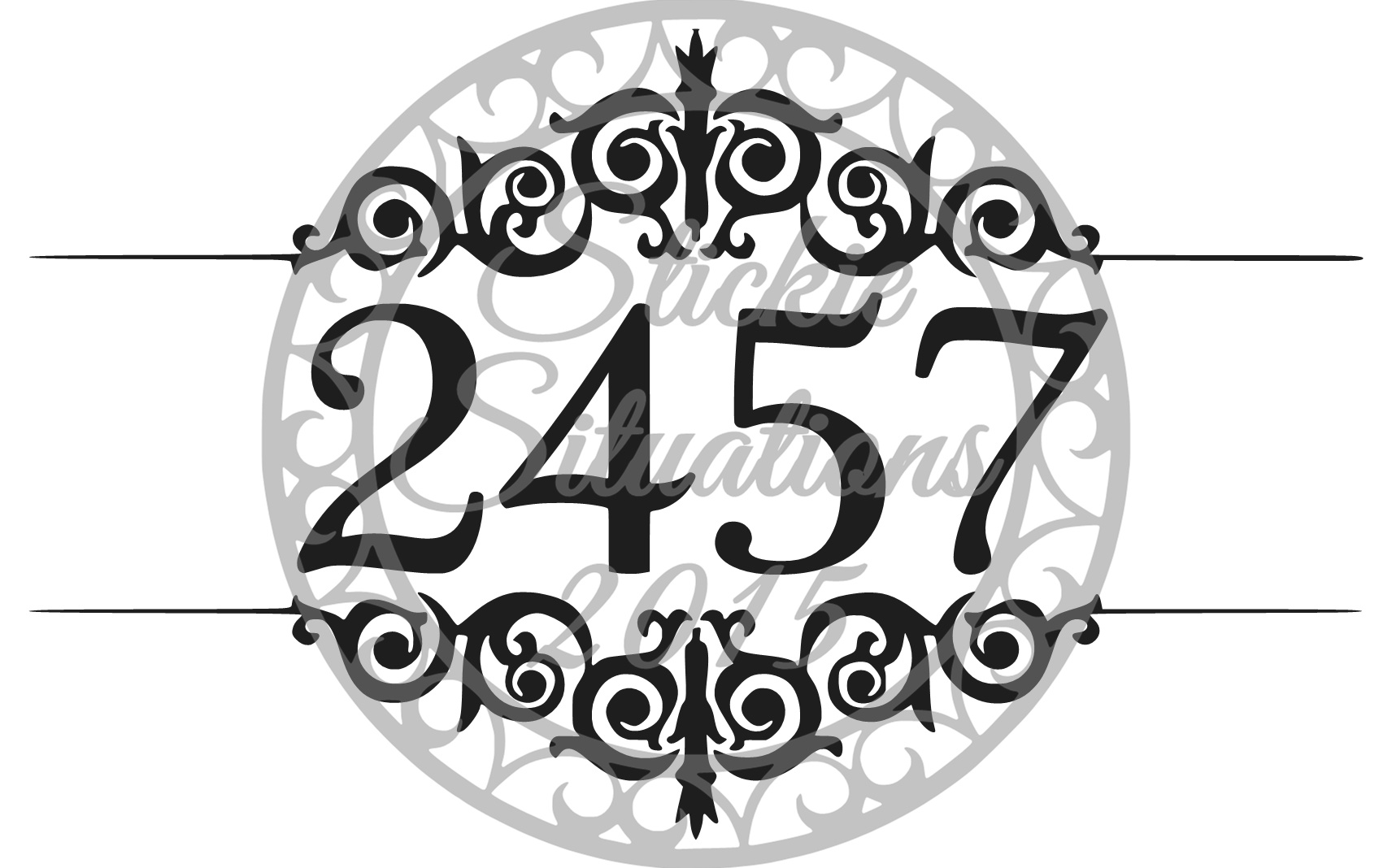 Mailbox Decal Design 19