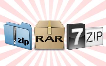 Compression Utilities to Handle ZIP/RAR/7Z   Tech Heavy