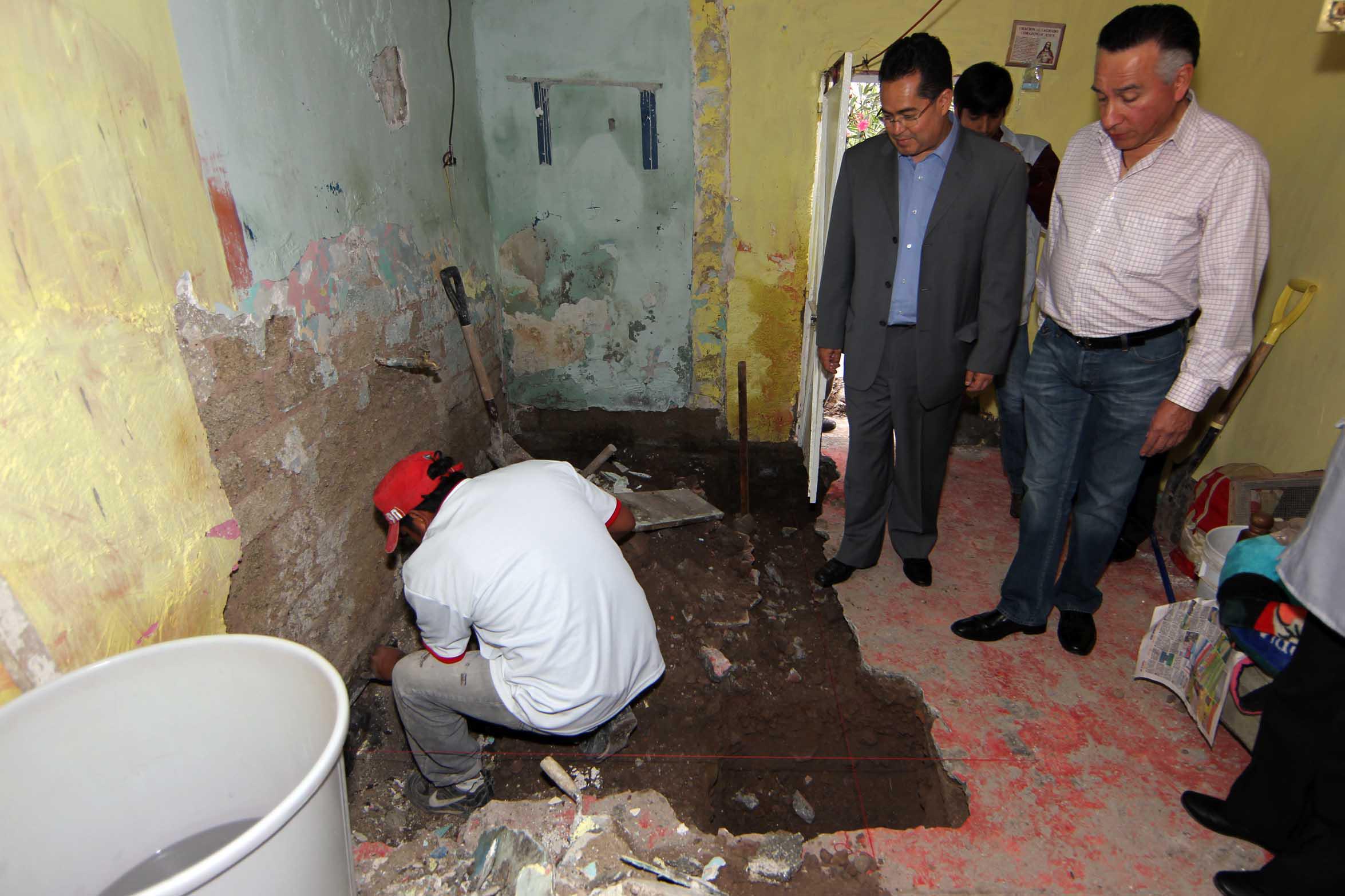 Impulsan en Álvaro Obregón mejoramiento de viviendas