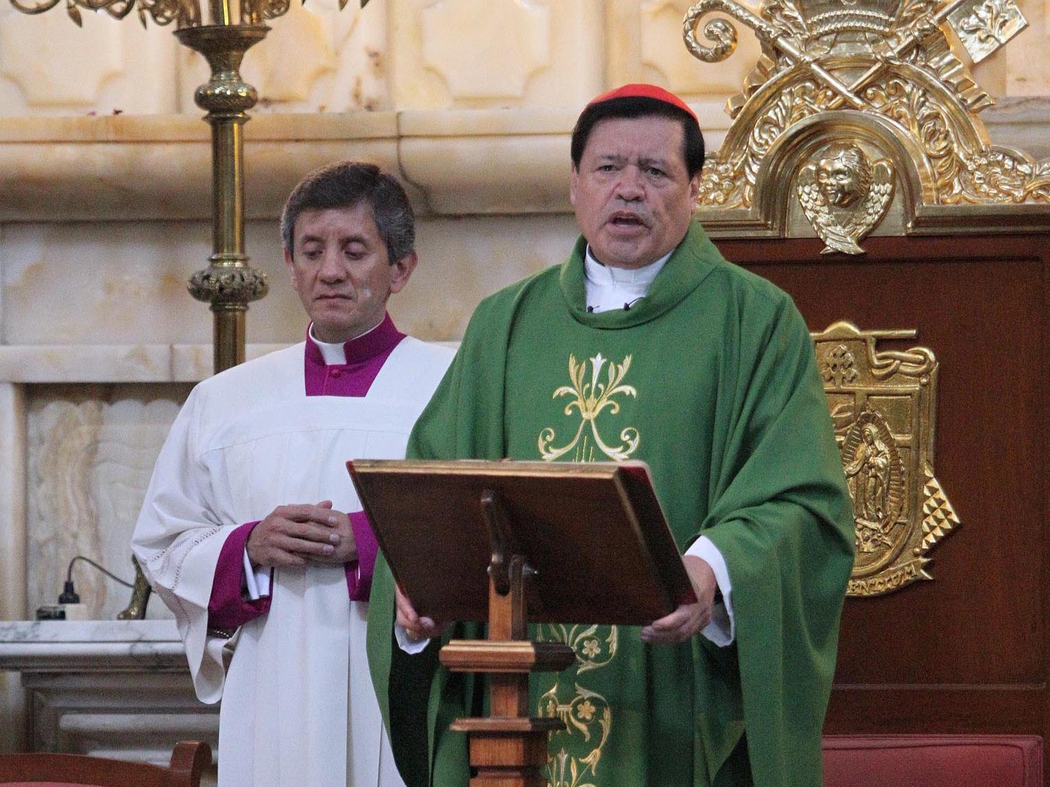 Norberto Rivera pide a fieles no marginar a los adultos mayores