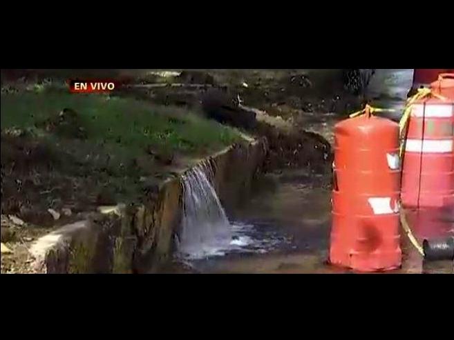 Hasta dos días tardará reparación de fuga de agua en Avenida 100 Metros