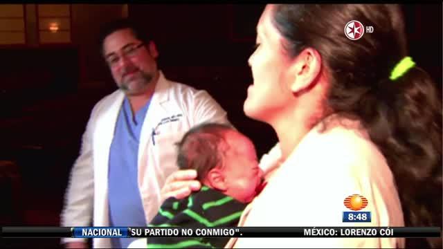 Atienden en EU a bebé herido en Cuajimalpa