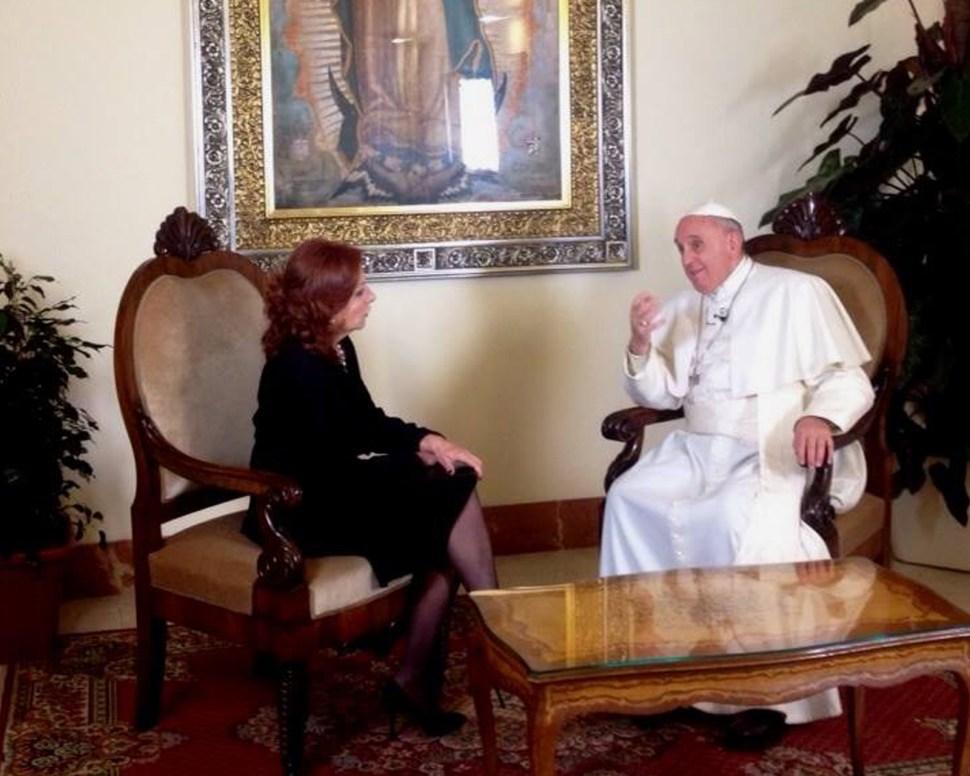 Papa Francisco: Con México, todo en paz