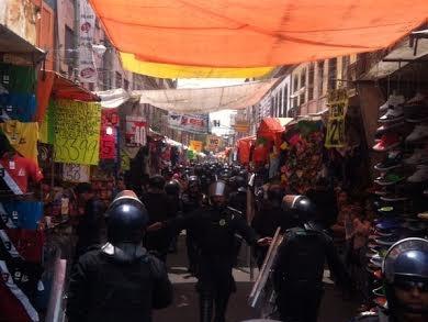 Efectúan Operativo Rastrillo en Eje Central Lázaro Cárdenas