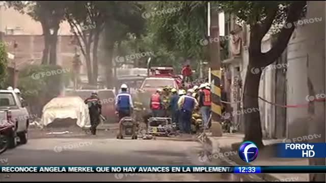 Bomberos: Fuga de gas en Azcapotzalco, completamente controlada