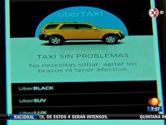 Uber Vs. taxis, una lucha sin reglas claras