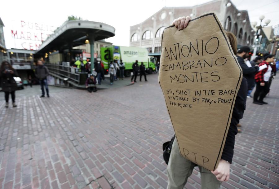 protesta estados unidos muerte de migrante