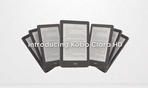 "Leaked Youtube Video Reveals Kobo Clara HD has a 6"" Screen With Color-Changing Frontlight e-Reading Hardware e-Reading Software Kobo"