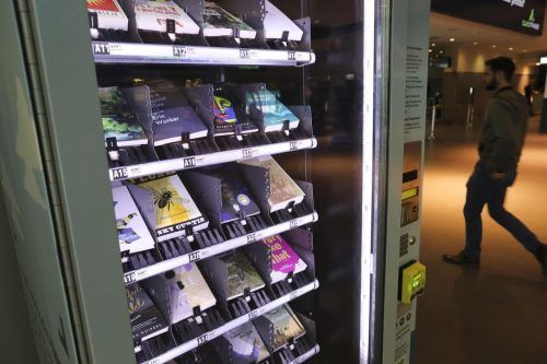 Toronto's Billy Bishop Airport Gets a Book Vending Machine Bookstore
