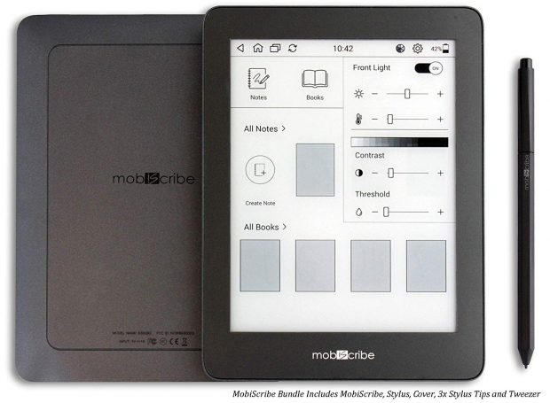 """Mobiscribe's 6.8"""" E-ink Notepad Now Available on Amazon e-Reading Hardware"""
