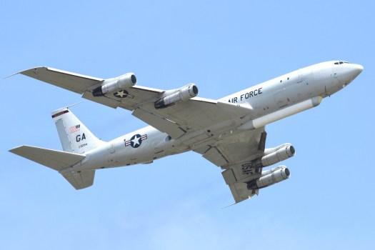 An E-8 JSTARS.