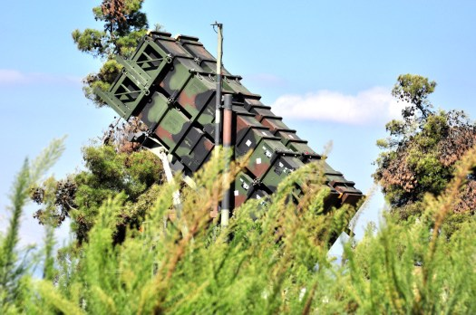 An Israeli Patriot surface-to-air missile launcher.