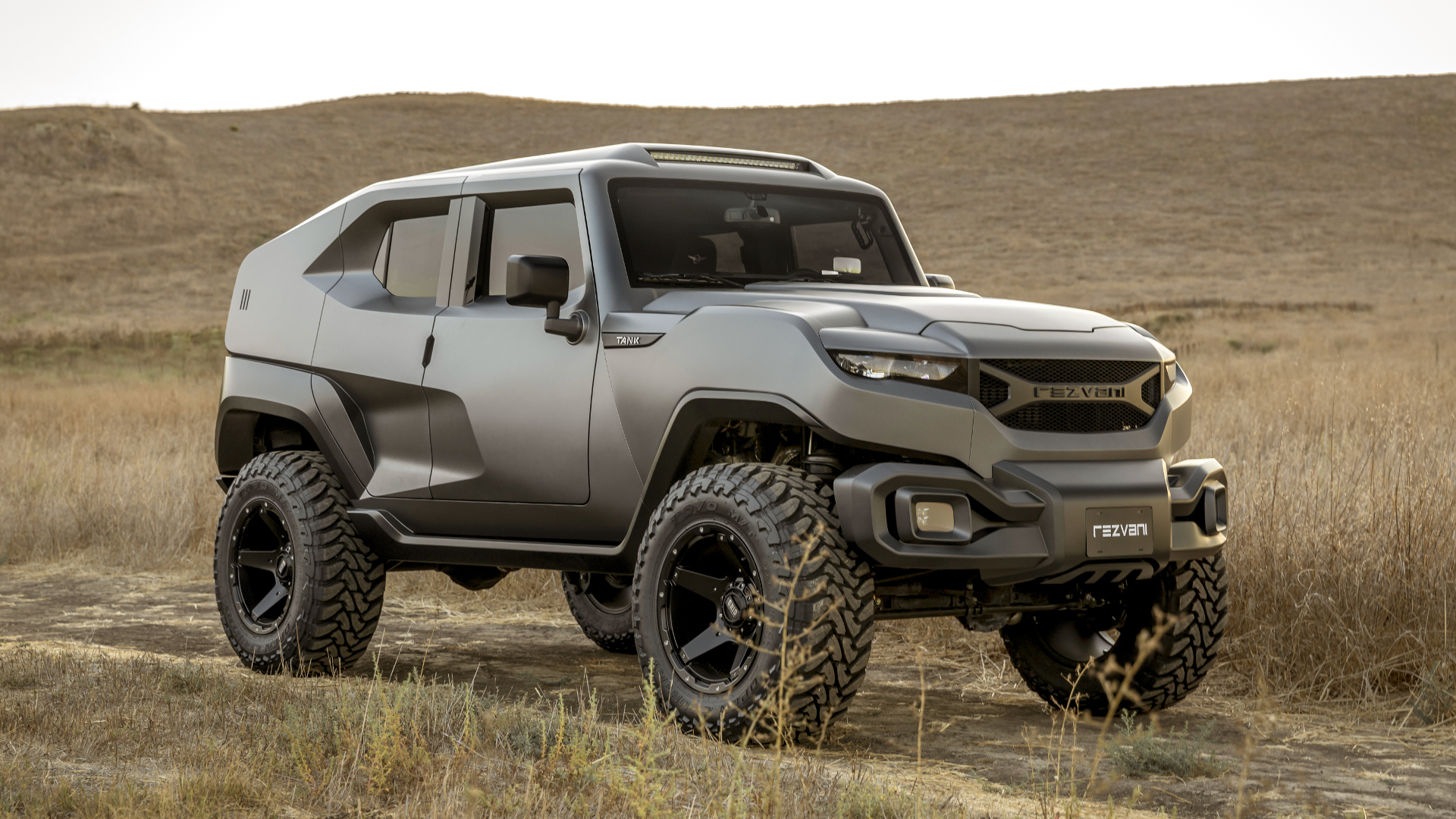 The Rezvani Tank Would Get You Through The Zombie