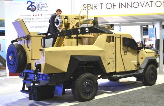 The Spear Mk 2 mortar system.