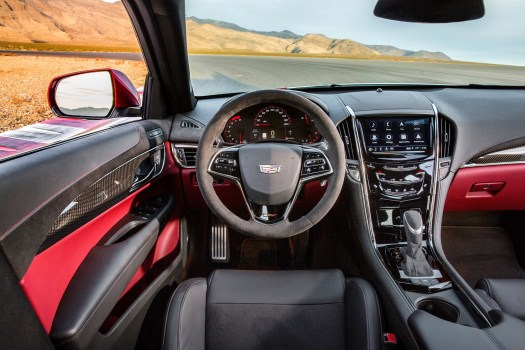 An interior fit for a champion in the ATS-V